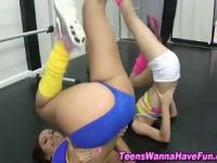 Real amateur gym teens sucking