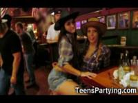 Teen Party Girls Get Facials