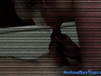 Real dutch prozzie cummed on