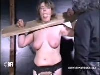 Helpless sub can't bare the pain