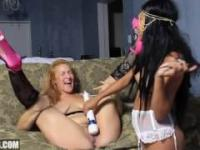 Latina Lesbians Love To Dominate Eachother