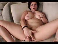 Horny Fat Chubby Teen from College love fingering her Pussy
