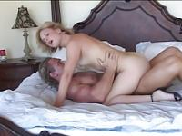 TEEN BLONDE HAS SEX WITH OLDER MAN...usb