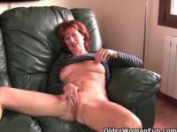 British milfs love masturbating in front of the camera