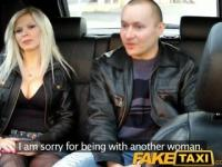 FakeTaxi Husband watches his wife getting fucked