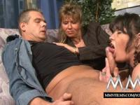 MMV Films German amateur couple gets training