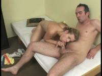 Blonde masturbating then fucked - Julia Reaves