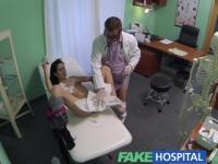 FakeHospital Doctors talented digits make MILF squirt uncontrollably during sexy consultation