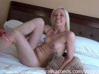 Real Blonde with Fresh Amateur Pussy