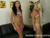 Nubiles Casting - Can her tight teen pussy take his huge cock?