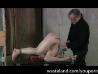 Sex Slave In A Steamer Trunk Ready For Her Mistress Punishment