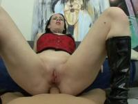 Tattooed chick knows how to ride a big dick- Chris Charming