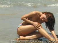 Asian Zhu naked beach fun