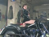 Stripping On My Bike - Julia Reaves