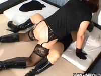 Amateur Tranny creampies masked female
