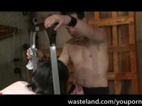 Wasteland BDSM Movie: Jada Sinn Misbehaves and gets Punished 2