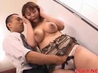 Japanese AV Model gets fucked