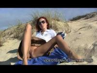 lovely Nathalie nude at beach