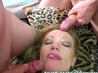 UK gangbang with Holly Kiss