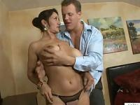 Big Tit Cougar Pussy Pounding