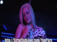 Geile Blonde Stripper