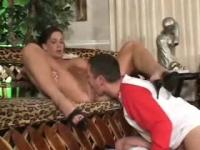 Hot milf like to suck young cock